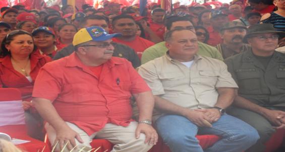 Diosdado en Elorza 16-03-2015