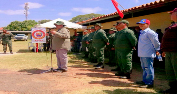 Ejercicios militares en Apure 15-03-2015