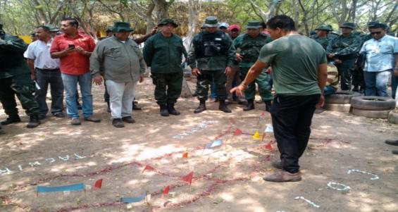 Ejercicios militares en Guasdualito 31-03-2015