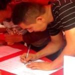 Guasdualiteños firman contra Obama 27-03-2015