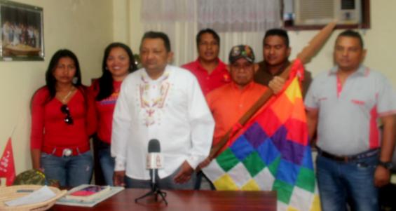 Indígena rechazan injerencia gringa 12-03-2015