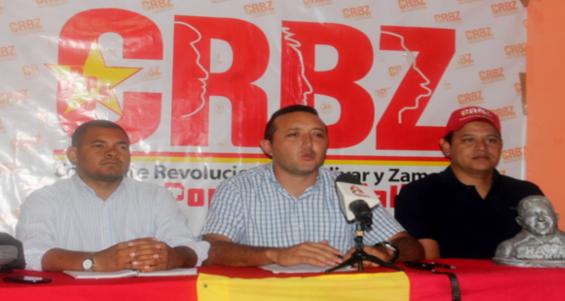 Rueda de prensa de la CRBZ 27-03-2015