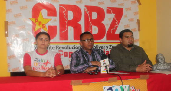 Rueda de prensa de la CRBZ- Apure 05-02-2015