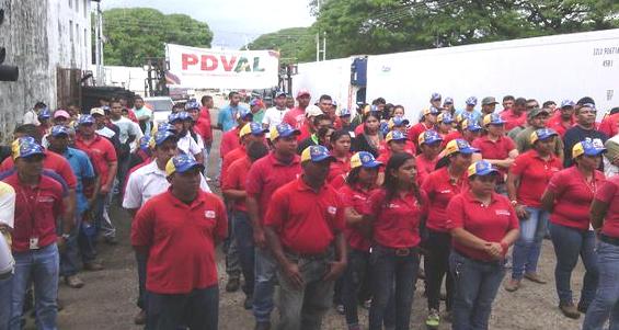 Parada Socialista en Pdval- Apure 05-06-2015